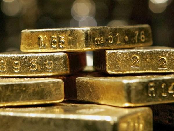 Giá vàng tiếp tục nối dài đà giảm trên thị trường châu Á