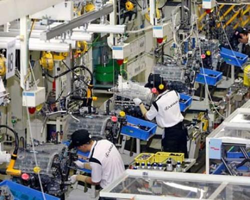Sản xuất công nghiệp 4 tháng tăng 9,4%