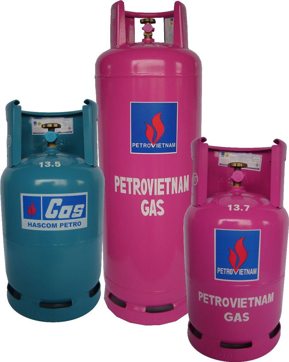Giá gas đồng loạt giảm